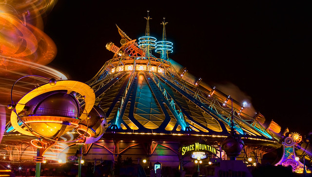 DLP Feb 2009 - Space Mountain: Mission 2 at Night