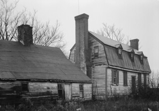 Port Tobacco, MD Stagg Hall (rear) in 1936