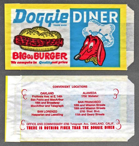 I totally took it for granted, now Doggie Diner is gone.