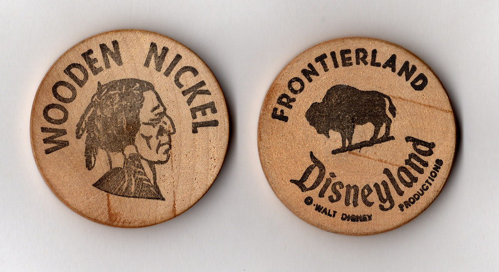 Disneyland Wooden Nickel