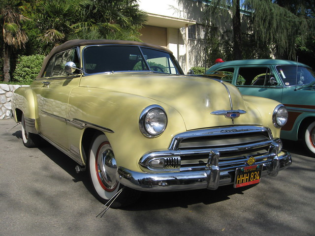 Chevrolet Convertible 1951 Flickr Photo Sharing