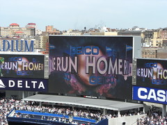 Home Run at Yankee Stadium