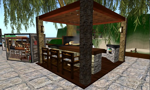 Azura outdoor bar grill flickr photo sharing for Outdoor grill and bar designs