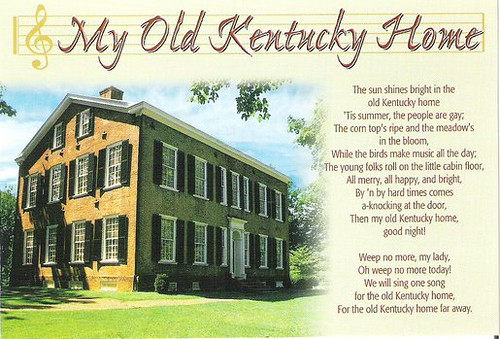 Historic my old kentucky home song flickr photo sharing for Classic house songs