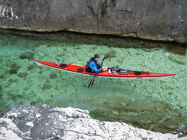 clear water kayaking in sardinia flickr photo sharing