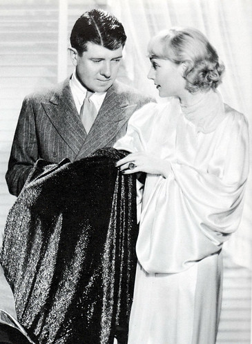 Carole Lombard and Travis Banton talk dresses, 1934