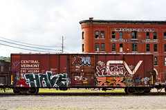 Painted Boxcar