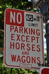 ... and I left my horse and wagon at home today - darn!