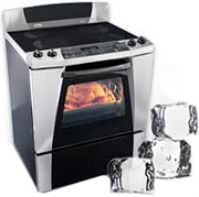 Whirlpool Gold Refrigerated Range Polara Stove Oven