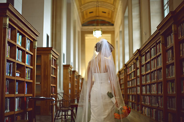 Indianapolis Central Library Wedding by EM@IMCPL