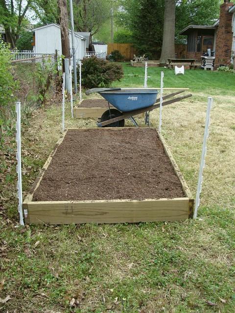 Square Foot Garden Setup
