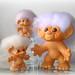 Three Tailed Trolls by asherline