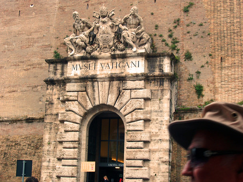 Entrance to Vaticans