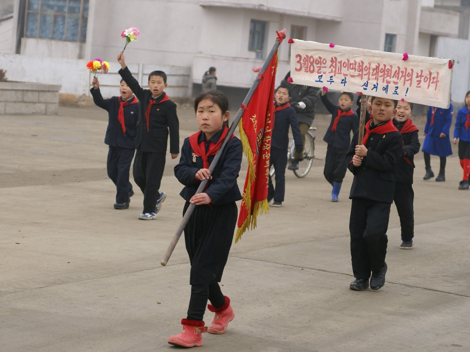 Election campaign, DPRK style