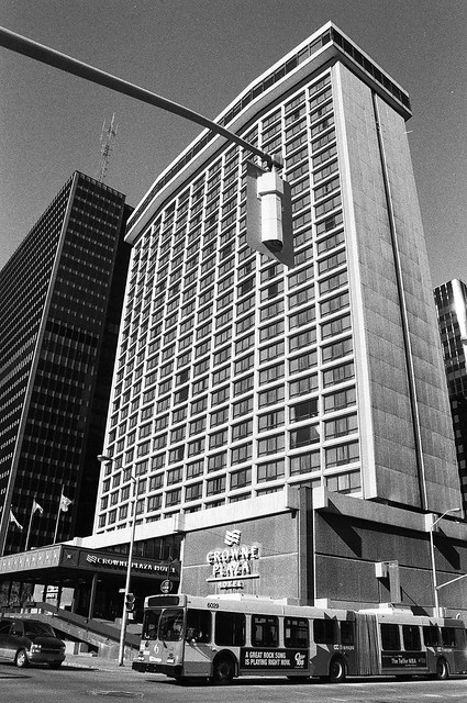 The Ottawa Crowne Plaza Hotel.