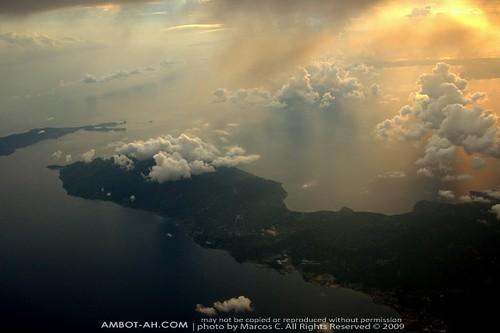 Luzon Peninsula at Sunset