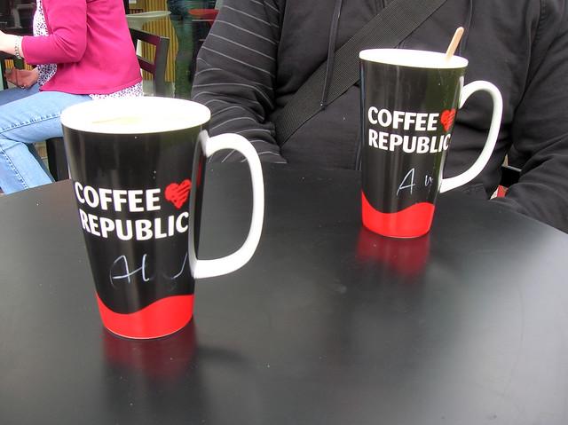 coffee republic mug