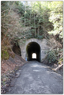 Tunnel at Guest River Gorge