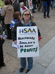 HSAA: Healthcare shouldn't be about profit$ by Grant Neufeld