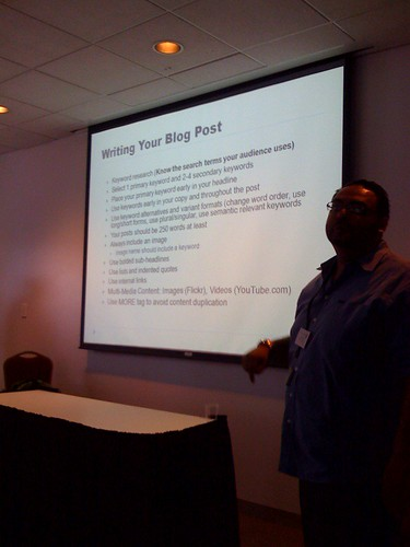 Writing an SEO blog post - John Shehata - Wordcamp Mid Atlantic 2009