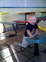 Isaac likes mcdonalds