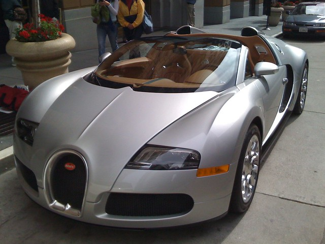 2 million dollar car bugatti veyron grand sport flickr photo sharing. Black Bedroom Furniture Sets. Home Design Ideas