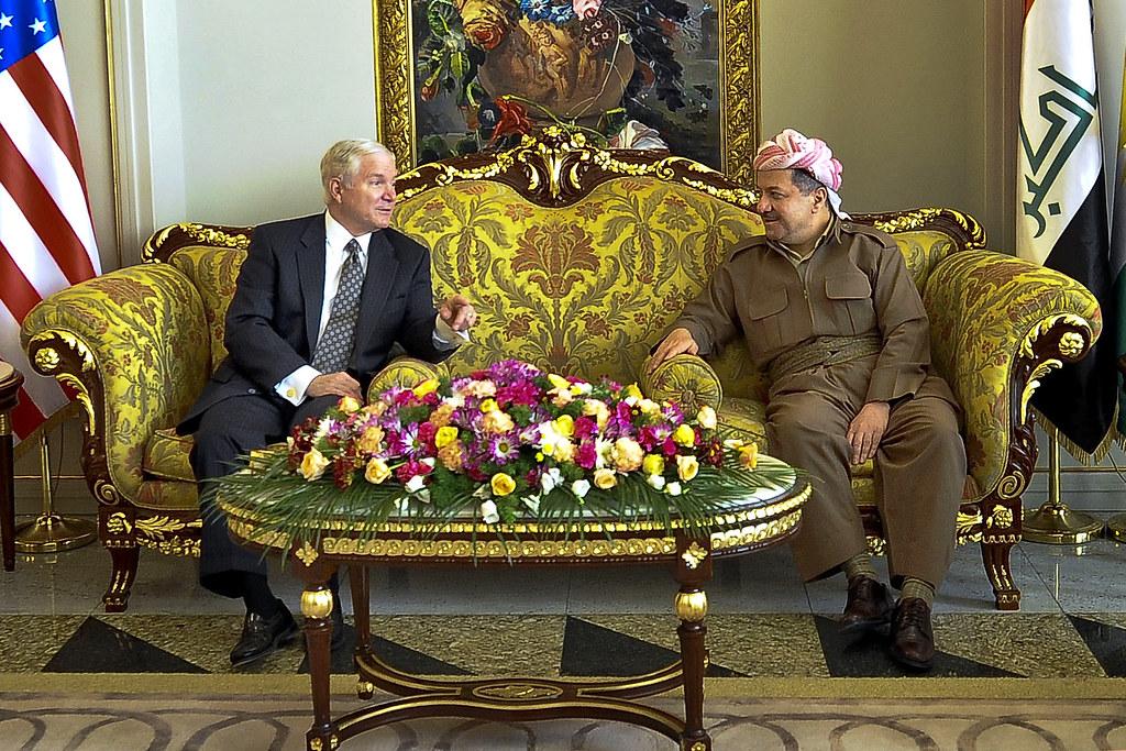 U.S. Defense Secretary Robert M. Gates visits Iraq