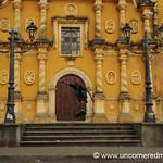 Leon, Nicaragua: Skateboarding at Church