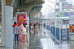 Rain in Bangkok, Thailand