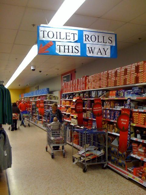 Toilet Rolls at Tesco