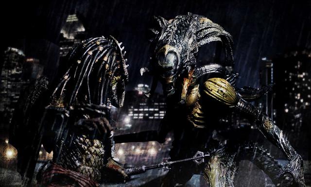 Alien vs Predator 2 - Wolf Predator Vs Predalien