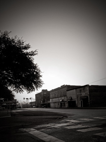 morning blackandwhite sunrise downtown texas olympus greenvilletexas e410 gtowneric