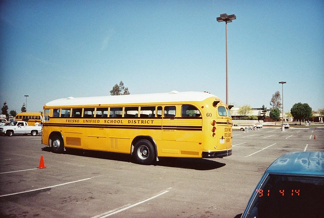 FRESNO UNIFIED SCHOOL DISTRICT BUS 60   Flickr - Photo ...