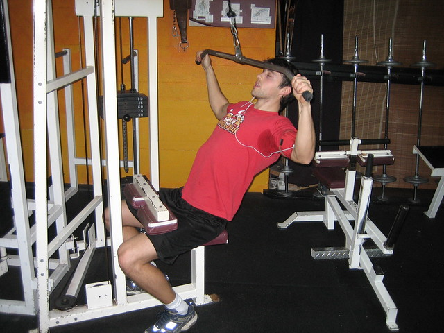 Wide Grip Lat Pull DownsWide Grip Pull Downs