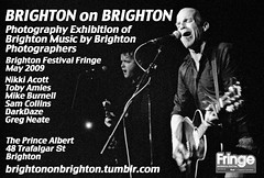Brighton on Brighton 2009 flyer by neate photos