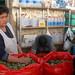 Bolivia - Sucre - Tarabuco Market - Coca Shop