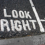 Look Right! (left-hand traffic)