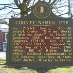 Henry County Historic Marker