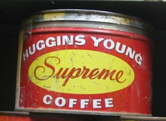 Huggins Young Coffee Tin