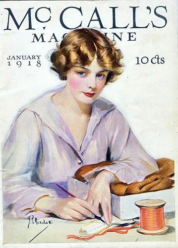 January 1918 McCall's by christine592