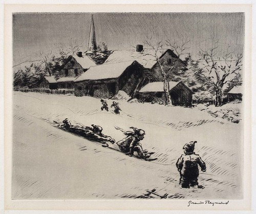 Grant Reynard: Down the Hill, 1934