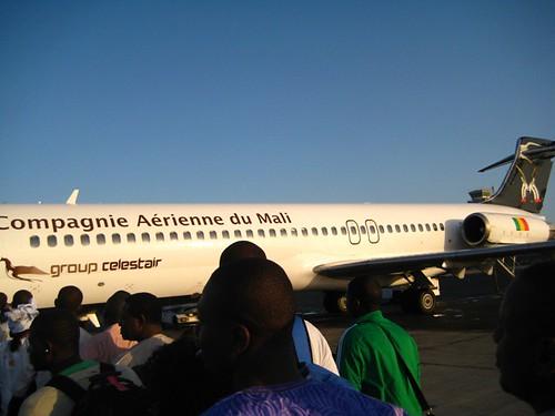 Air Mali...in place of Air Senegal