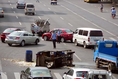 Traffic Collision Shenzhen Bao'an