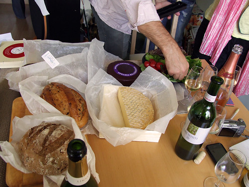 Bread and Cheese and Wine