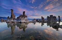 Mono Lake, California, at Sunrise