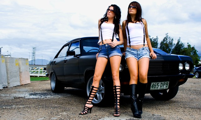 muscle car girls   go here for a video of me editing this ph…   flickr