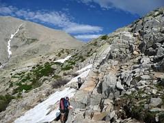 Le GR20 entre les refuges de Manganu et Petra Piana