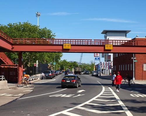M169 Third Avenue Pedestrian Bridge over East 128 Street, Harlem, New York City