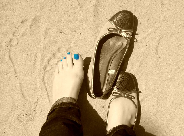 sand in my shoes - 1/365