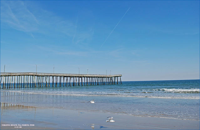 The virginia beach va fishing pier 2 21 09 flickr for Va beach fishing pier